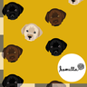KLIPPT BIT GOTS - Labradorer ockra