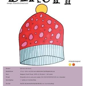 Tryckt mönster - Birgit