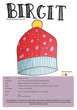 PDF mönster - Birgit
