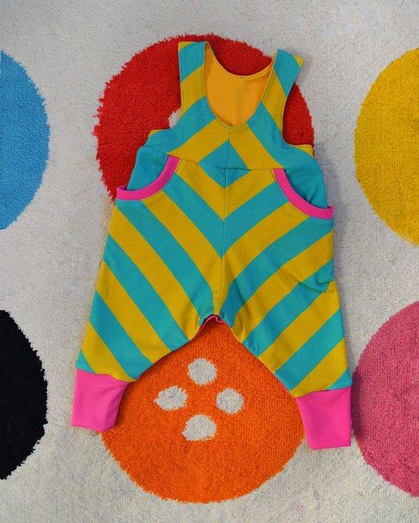 Tryckt mönster - Skattsamlarbyxor