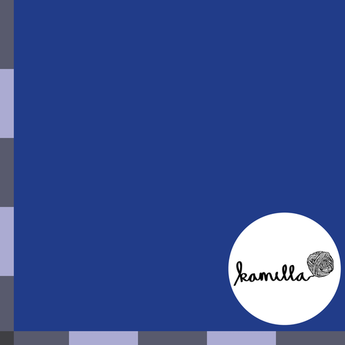 GOTS - Blåbär - Enfärgad Jersey