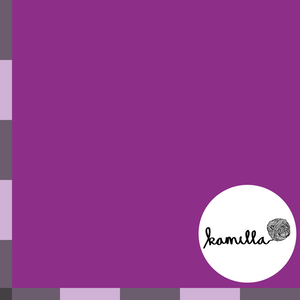 GOTS - Single Jersey - Unidye purple