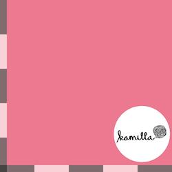 GOTS - Single jersey - Unidye pink