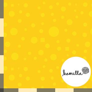 GOTS - Single Jersey - Tussilion Yellow matching