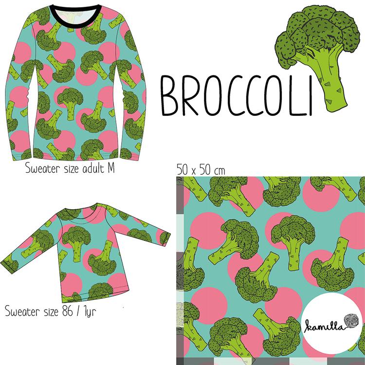 FÖRHANDSBOKNING - GOTS - BROCCOLI