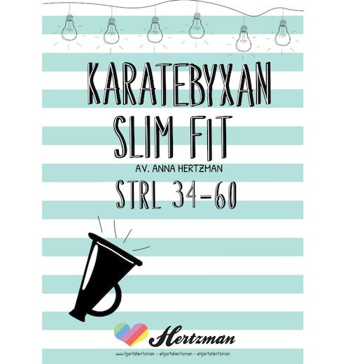 Hjärta Hertzman - Karatebyxan Slim Fit