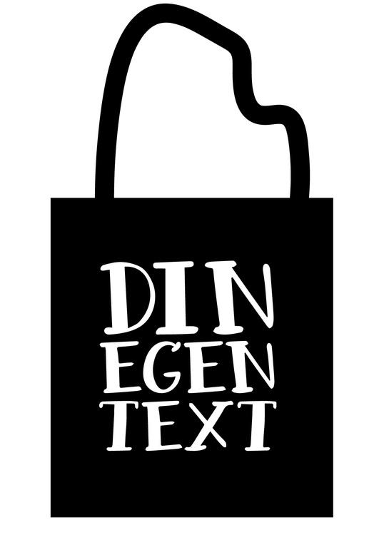Tygkasse med egen text