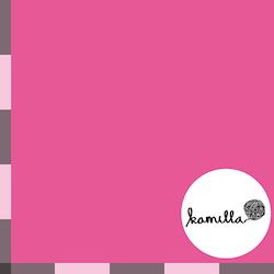 GOTS Single Jersey - Varmrosa enfärgad