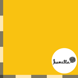 FÖRHANDSBOKNING - Single jersey - Varmgul enfärgad