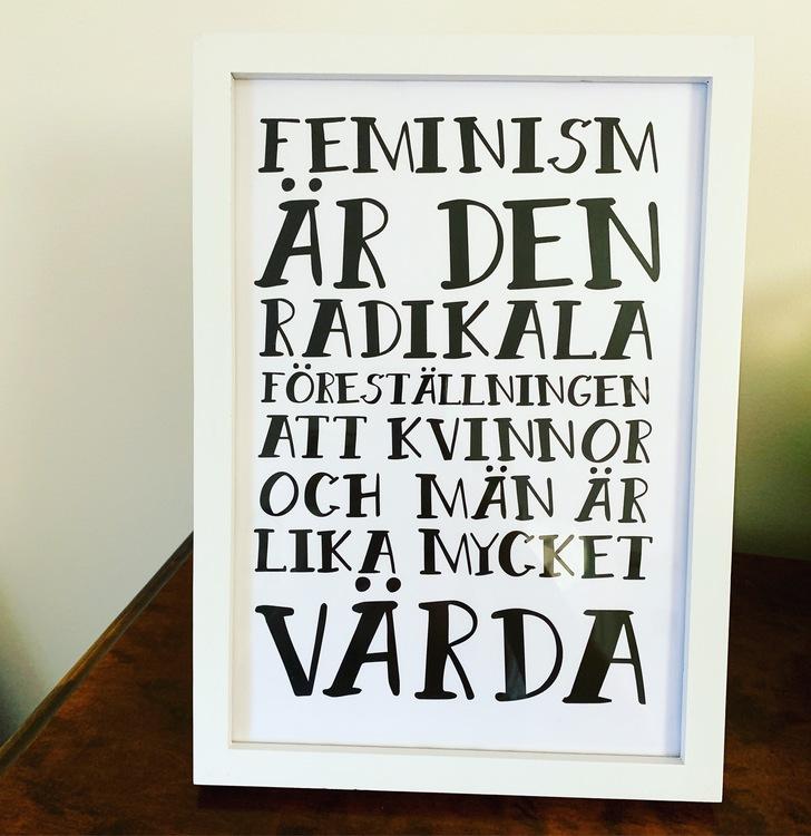 Poster - A4 - Feminism är...
