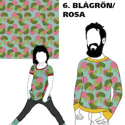 FÖRHANDSBOKNING Broccoli Blågrön/Rosa