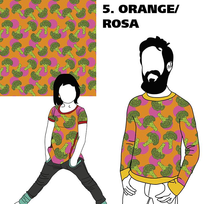 FÖRHANDSBOKNING Broccoli Orange/Rosa