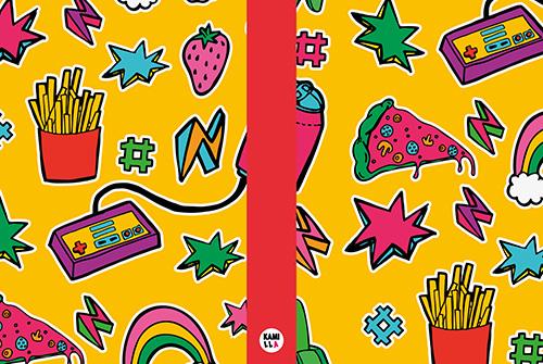 Anteckningsbok - Pizzaparty