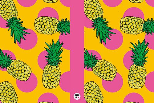 Anteckningsbok - Ananas