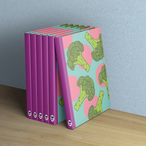 Anteckningsbok - Broccoli