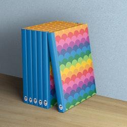 Anteckningsbok - Regnbågskullar