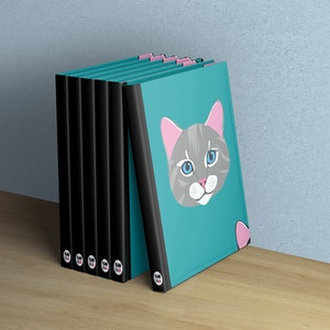 Anteckningsbok - Katter