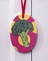 Julgransdekoration Broccoli