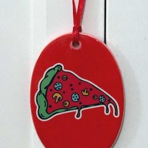 Julgransdekoration Pizza