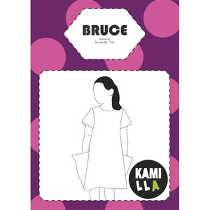 PDF-mönster - Bruce - Klänning