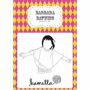 PDF-mönster - Barbara Batwing - Med licens