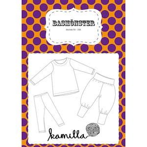 PRE ORDER - printed pattern - Basmönster