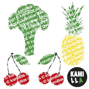 Skärfil - Frukt och grönt