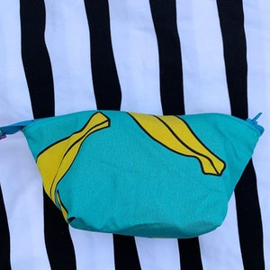 Necessär - S - Blå bananer