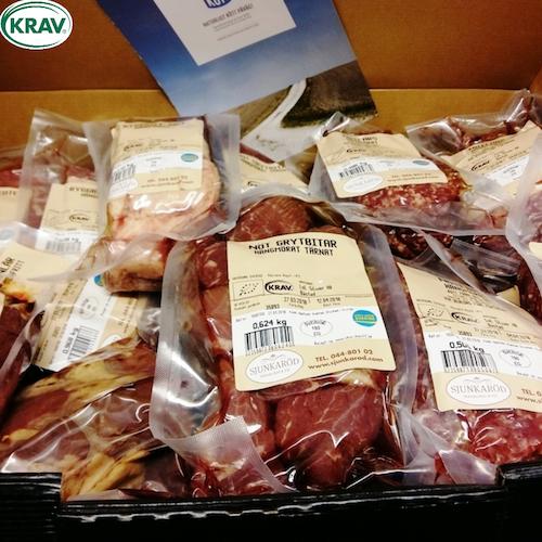 KRAV Gourmé Nötlåda 7,5 kg á 345 kr!