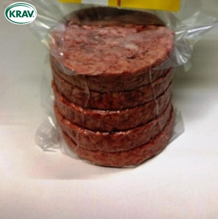 KRAV Nötburgare 150 gr, 1,4 kg á 215 kr