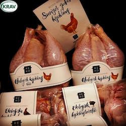 REKO-Kyckling KRAV Ekologisk 4,3-8,5 kg á 159-169 kr