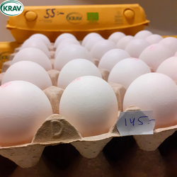 Ekologiska KRAV-ägg Fruehagen