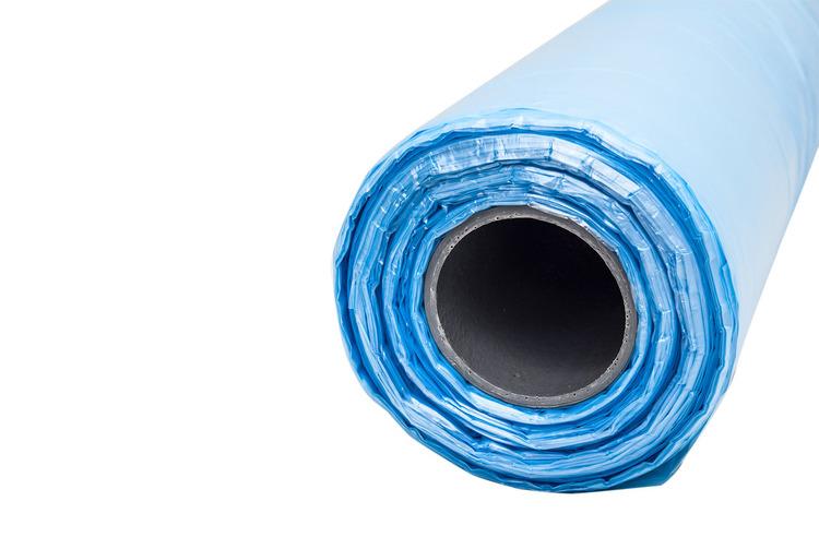 Insatspåse - Fiskbackssäck - Blå - Rull