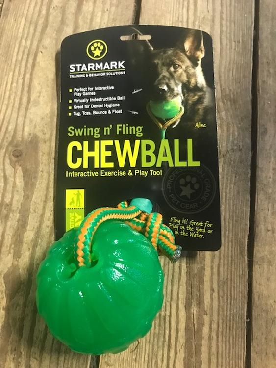 Chewball med snöre