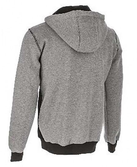 Sweatshirt med dragkedja dam