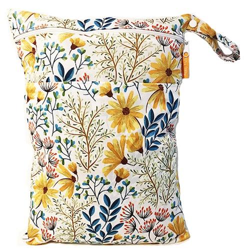 Blöjpåse - Blomster