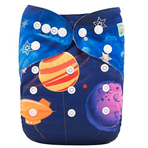 AIO tygblöja - Planets