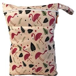 Blöjpåse - Flamingo