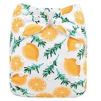 AIO tygblöja - Citroner