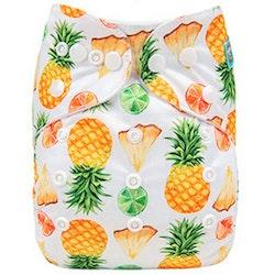 AIO tygblöja - Ananas