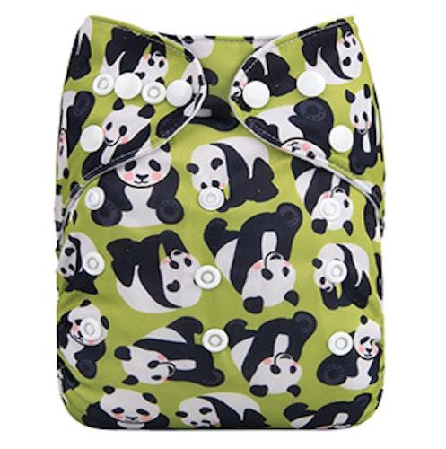 AIO tygblöja - Panda