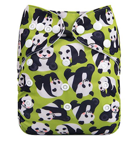 Pocketblöja benresår med inlägg - Panda