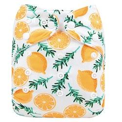 Pocketblöja benresår med inlägg - Citron