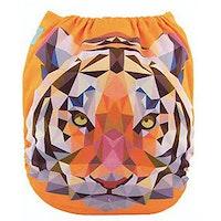 Pocketblöja benresår med inlägg - Tiger