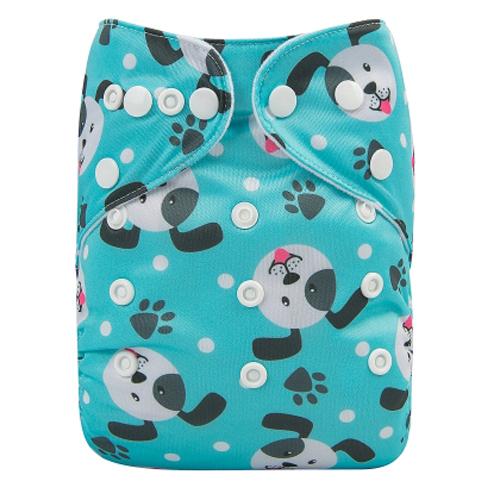 Pocketblöja med inlägg - Hundar