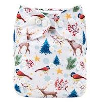 Pocketblöja med inlägg - Vinter