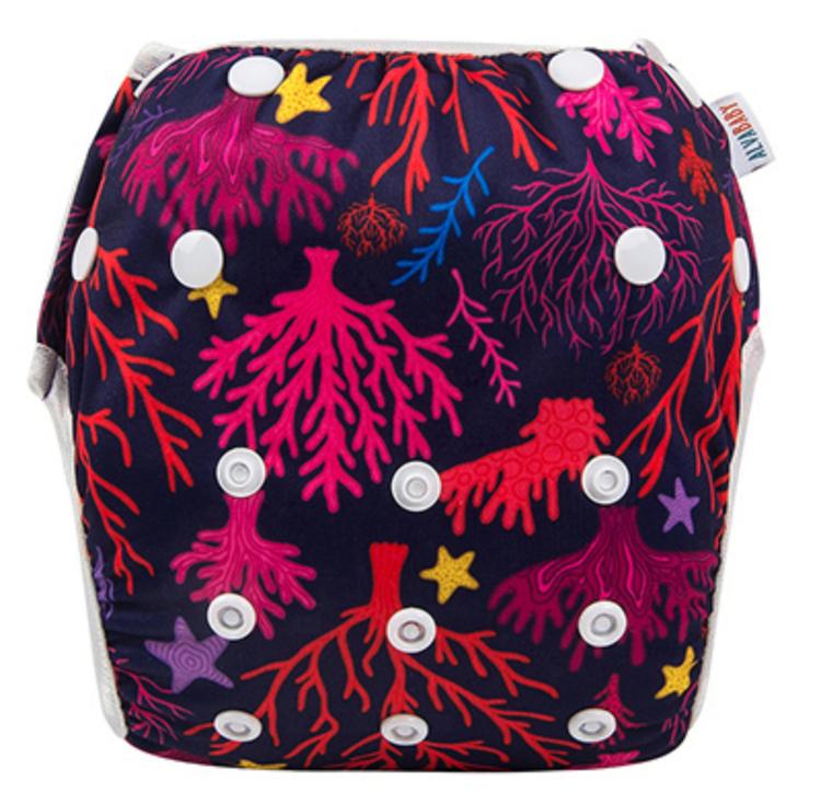Badblöja - Korall
