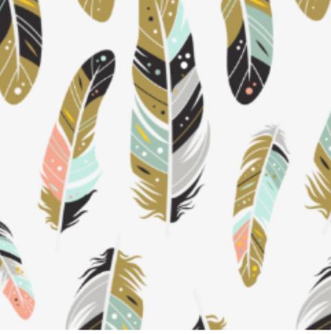 Blöjpåse - Fjädrar