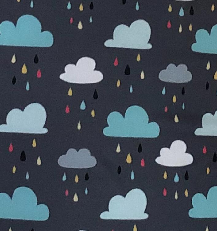 Stor blöjpåse - Regn