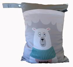 Blöjpåse - Isbjörn